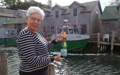 New Fishtown JOY Sparkling Wine by L. Mawby Vineyards