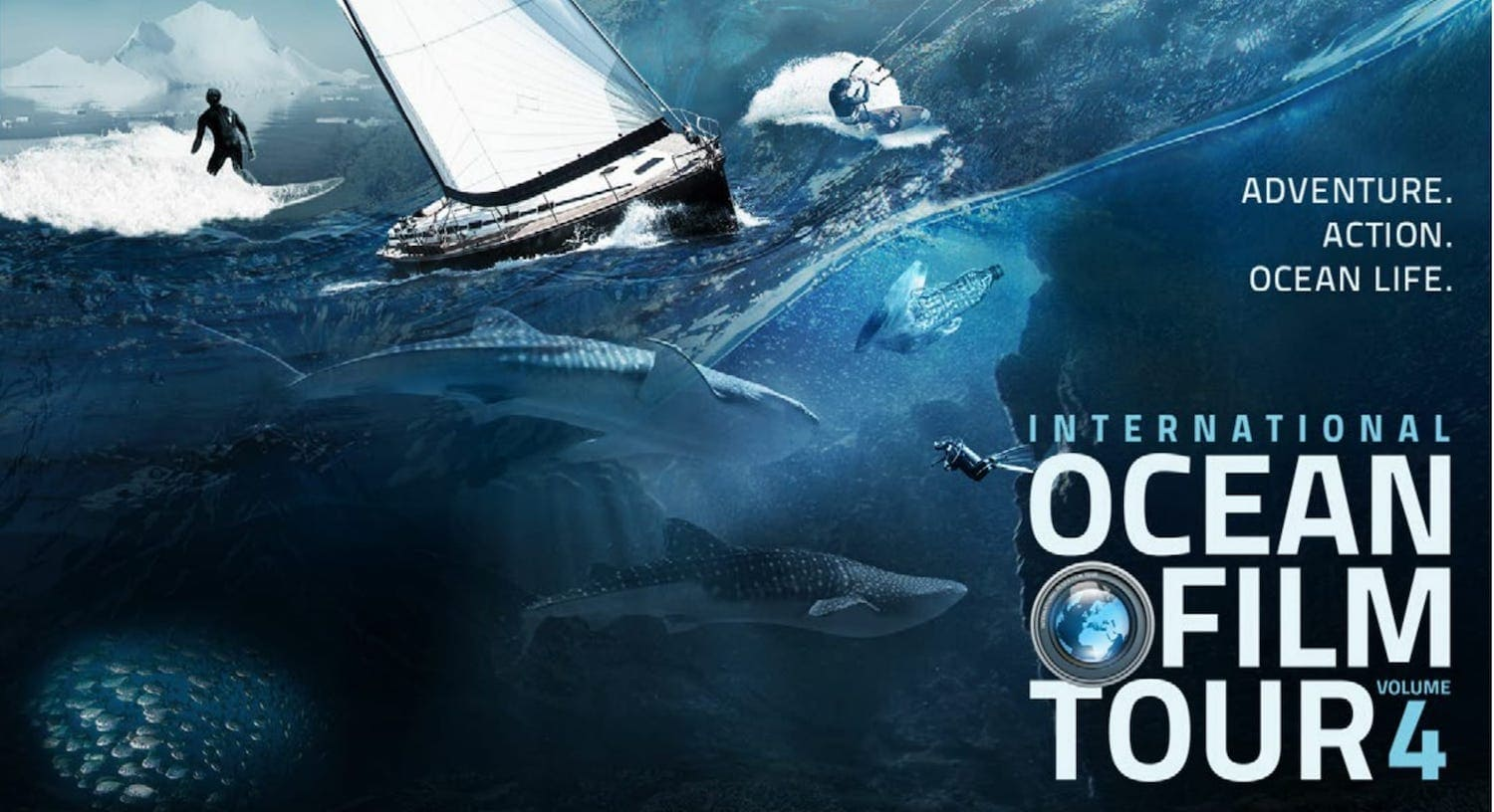 The boardman review presents the international ocean film for Craft shows in traverse city mi
