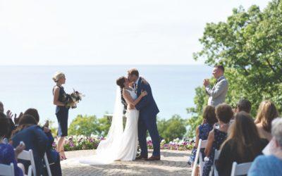 An Outdoor Wedding Atop Bay Mountain at The Homestead
