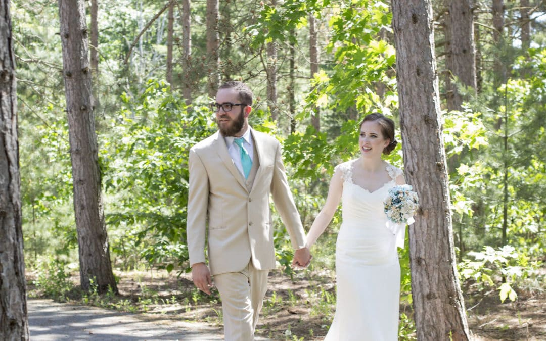 Northern Michigan Wedding Announcement! Nicole and Max