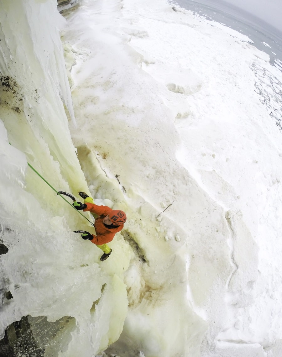 Michigan Ice Climbing