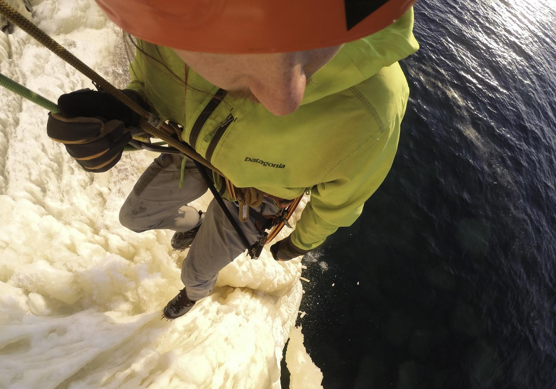 Michigan Ice Climbing