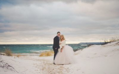 A Glamorous Winter Wedding in Michigan on New Year's Eve