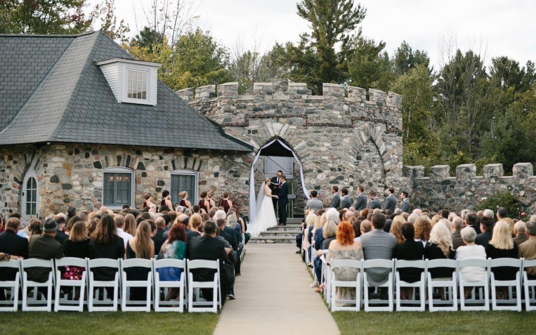 wedding castle farms