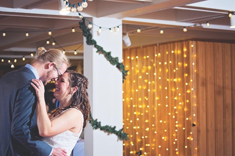 A Beautiful Snowy Wedding At Leland Lodge Mynorth