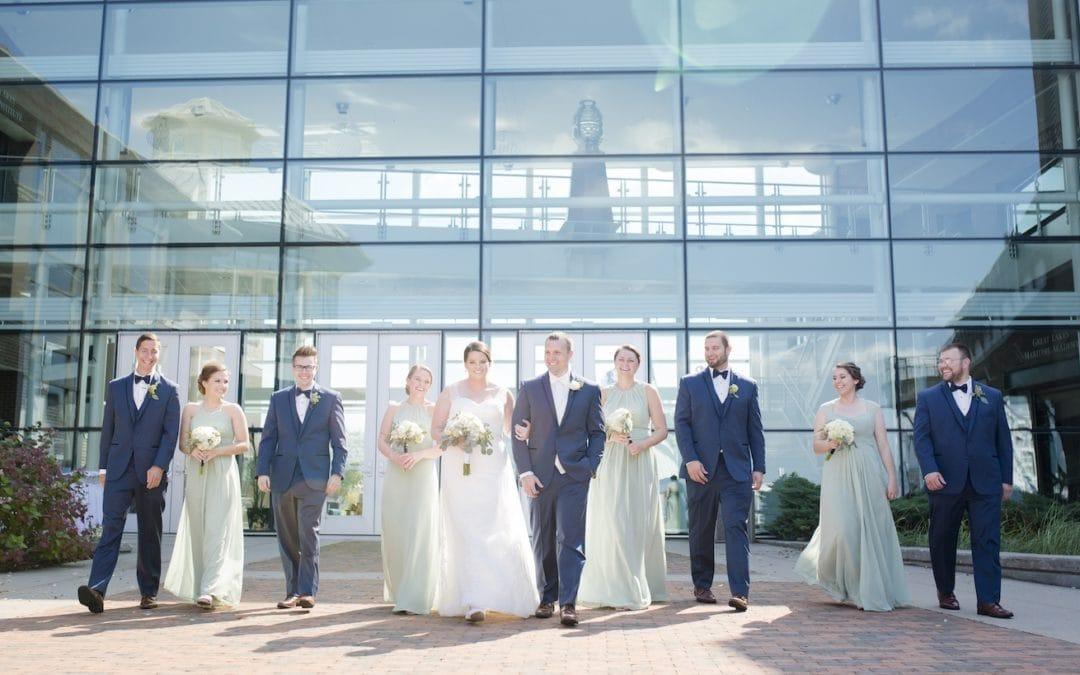 Northern Michigan Wedding Announcement! Rachel and Ben