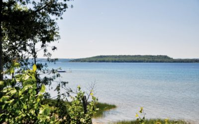 The Keeper of Grand Traverse County's Power Island