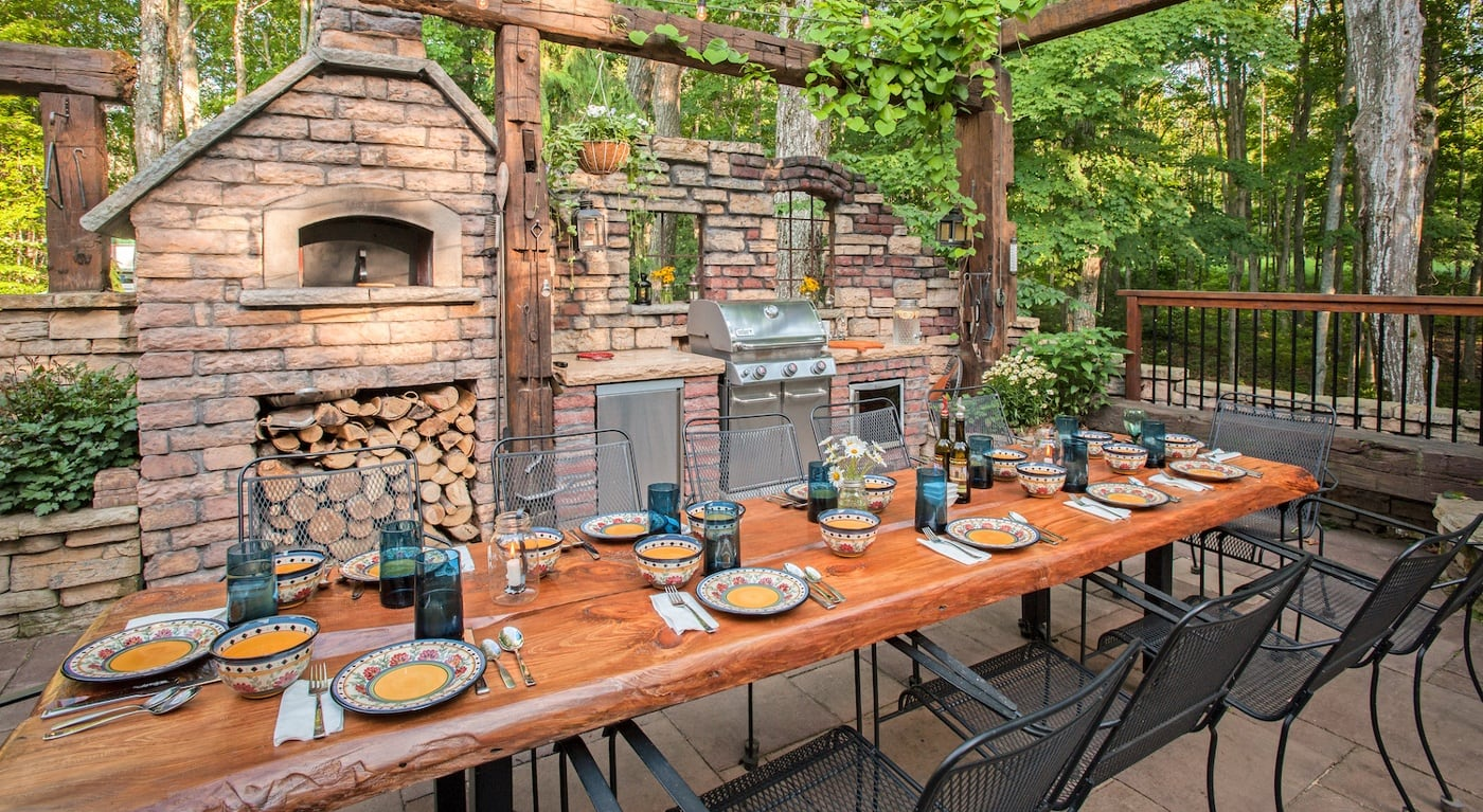 Gorgeous Backyard Makeover In Northern Michigan Inspired
