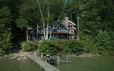 Torch Lake Home Gets a Landscape Makeover