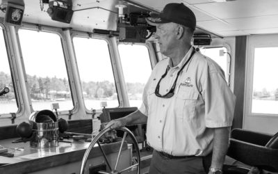 Meet Beaver Island Boat Company's New Captain, Mike Green