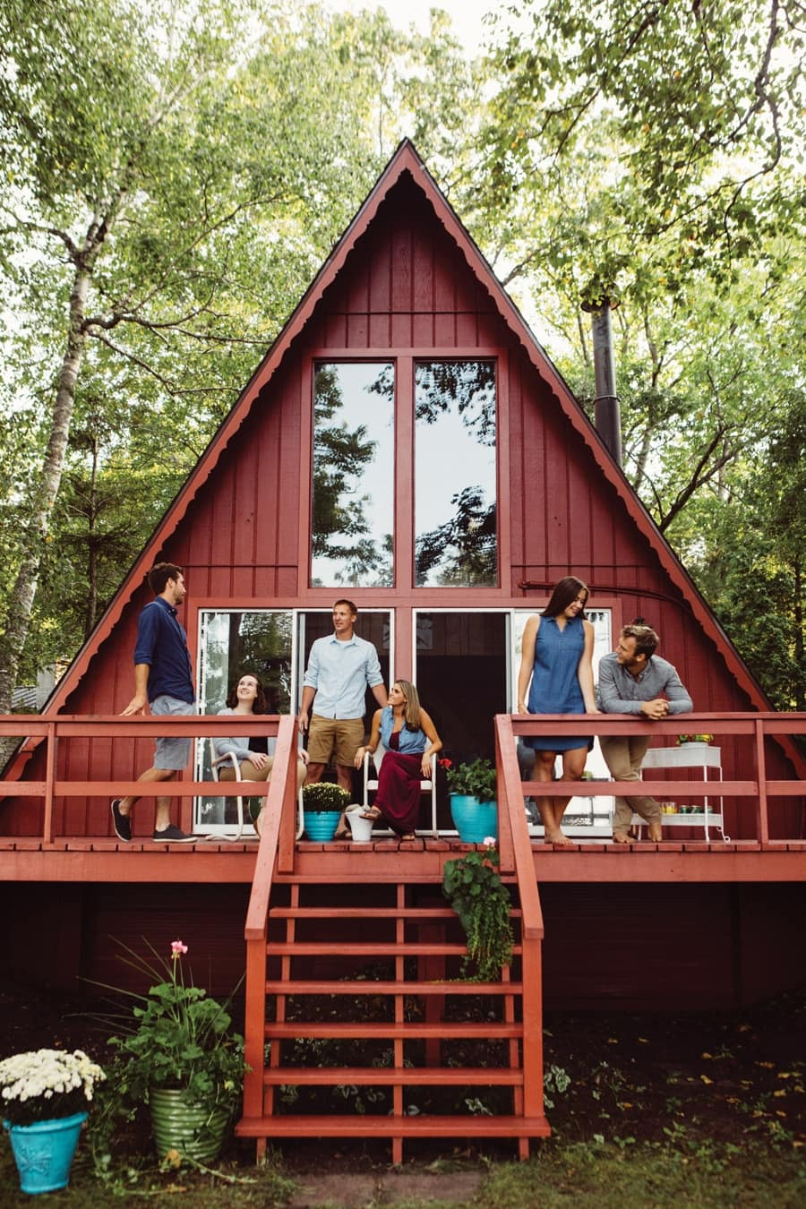 Darling A-Frame Homes For Rent in Northern Michigan