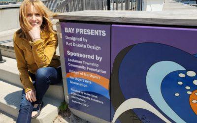 Meet Kat Dakota, the Artist Behind the Northport Marina Mural