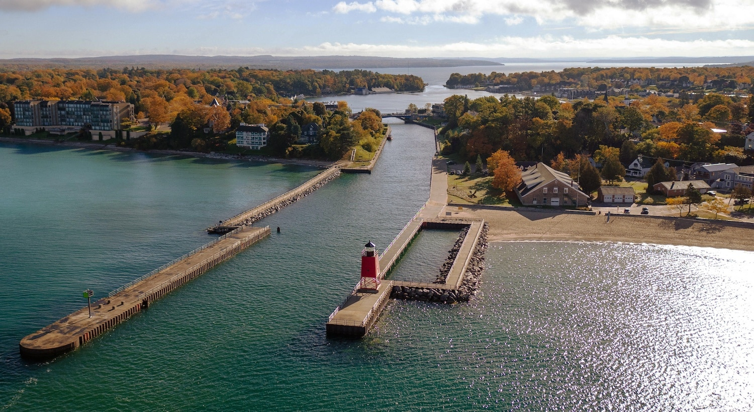 The Best Place to Travel in October? Charlevoix, MI