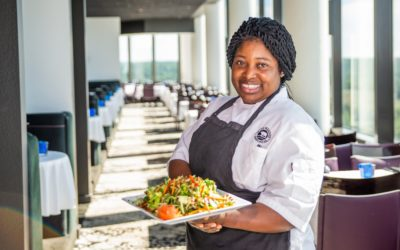 A Labor of Love: Jamaican Chef Lisa Lawrence at Aerie Restaurant & Lounge