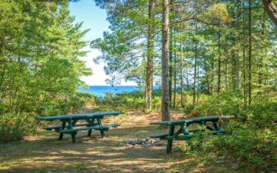 7 Places for Summer Camping on Lake Michigan