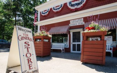 Stop by Good Hart General Store on Michigan's Tunnel of Trees