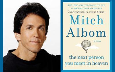Mitch Albom Talks About His Latest Novel at Milliken Auditorium in Traverse City