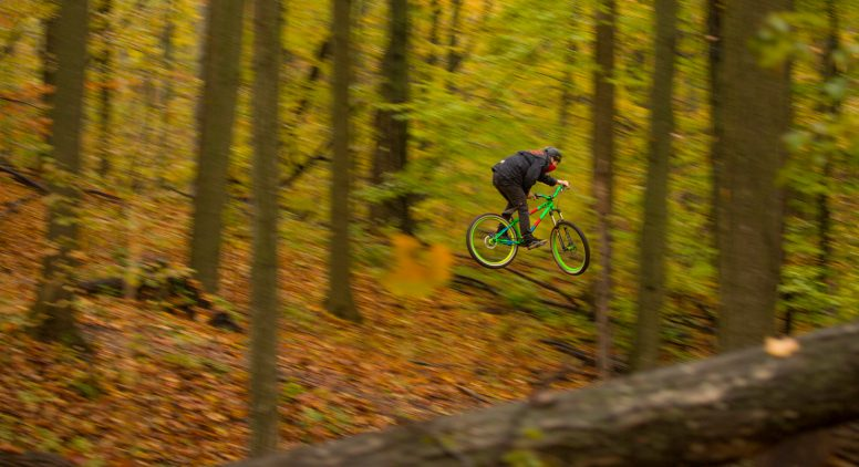 Photo By Erik Olsen Thrill Ride Mountain Bike Trails At Grand Traverse Commons