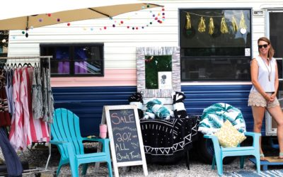 Stop by the Tiny Traveling Boutique in Elk Rapids