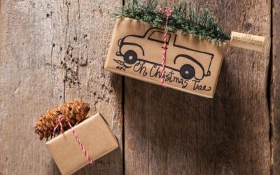4 DIY Brown Paper Packages with Rustic Michigan Style