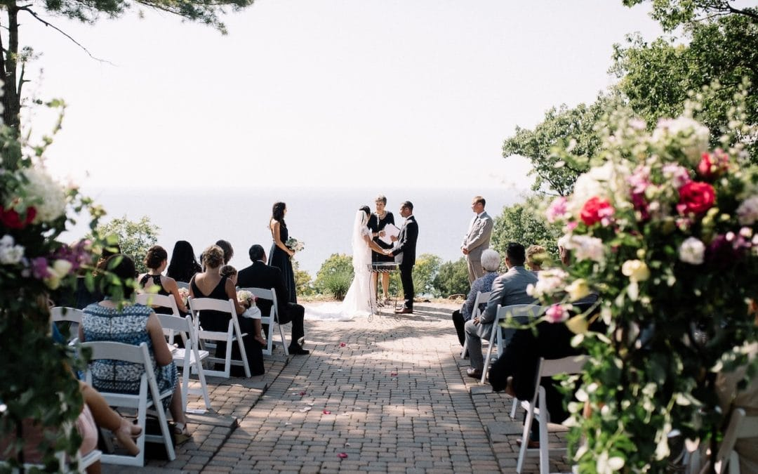 Outdoor Wedding at The Homestead