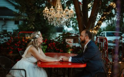 A Detroit Couple's Creative Wedding at Willowbrook Mill in Northern Michigan