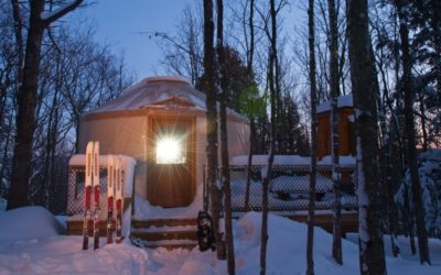 Try Yurt Camping in Michigan's Porcupine Mountains