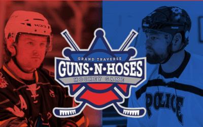 Annual Grand Traverse Guns N' Hoses Hockey Game Supports Leelanau's DePuy Family
