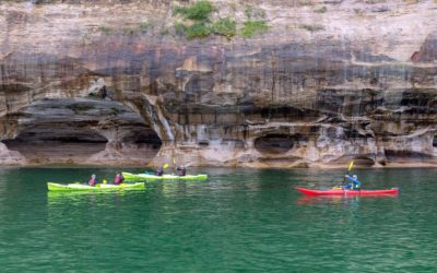 New Boat Will Launch Kayaks Offshore at Pictured Rocks National Lakeshore