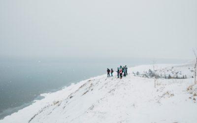 Snowshoe Sleeping Bear Dunes This Winter—It's a Secret Snowy World