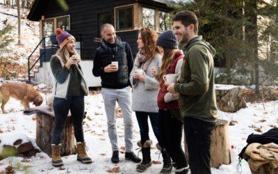 A Cozy Lake Leelanau Vacation Rental for a Winter Adventure