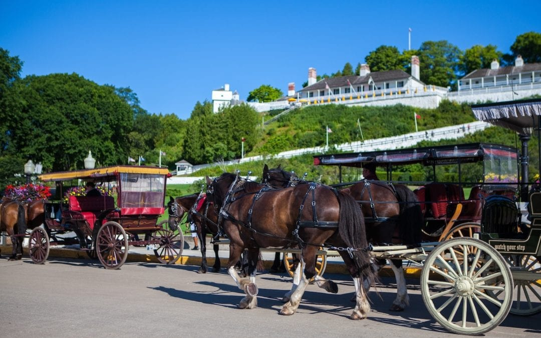 Annual 4th of July Fireworks on Mackinac Island