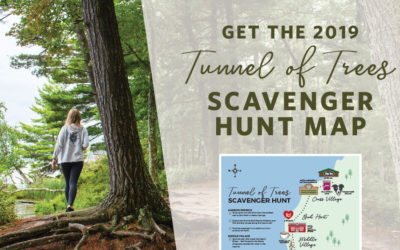 Adventures Await! Download our Tunnel of Trees Scavenger Hunt