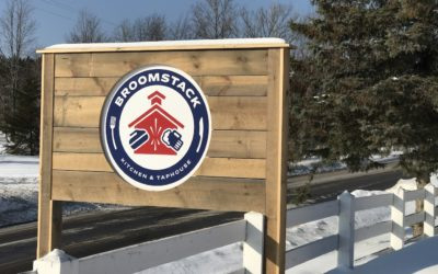 Curling, Craft Beer and Burgers at Broomstack Kitchen & Taphouse in Maple City