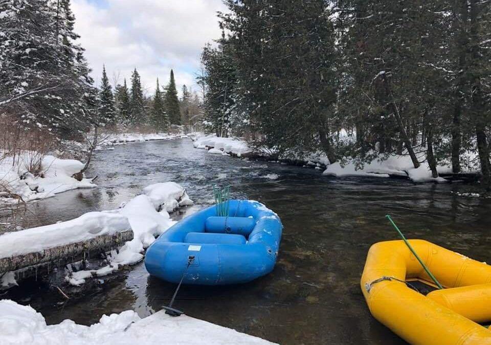Winter Rafting on the Jordan River