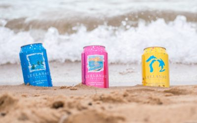 Start Drinking this Bubbly Northern Michigan Wine in a Can… Now!