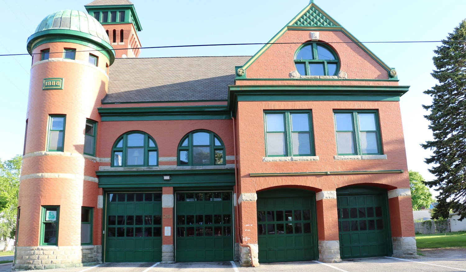 Manistee Fire Station is the World's Oldest Continuously