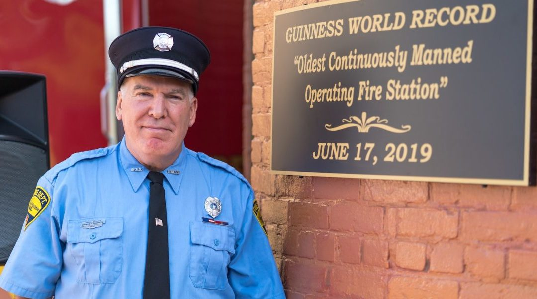 Manistee Fire Station is the World's Oldest Continuously Manned Operating Fire Station