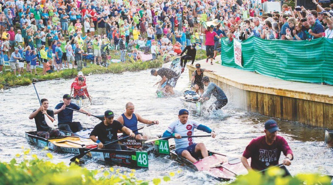 graying canoe marathon, race