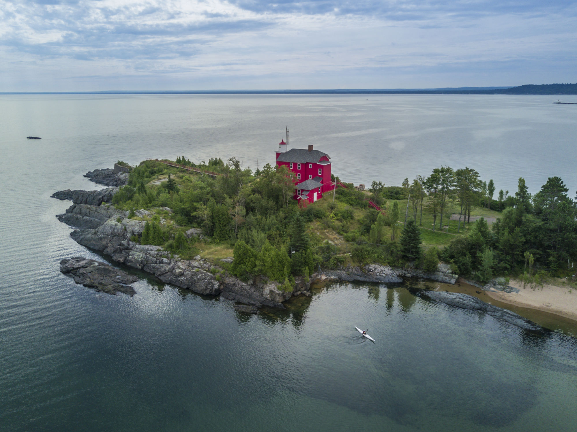 marquette lighthouses