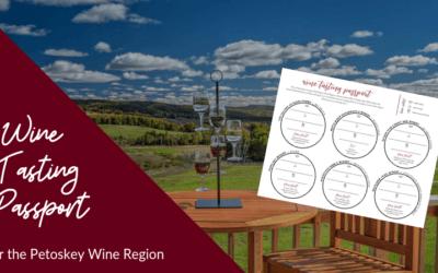 Wine Tasting Passport – Petoskey Wine Region
