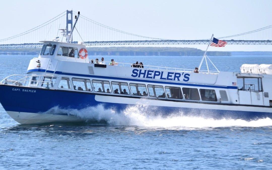Shepler's Ferry Offering Direct Departures for Labor Day Mackinac Bridge Walk