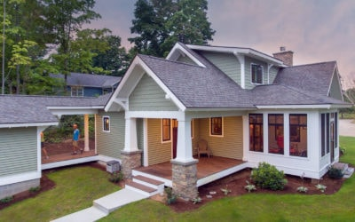 Sneak Peek! Home #4 on the Petoskey Home Tour is a Contemporary Craftsman