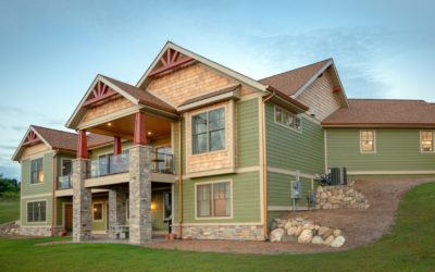 Sneak Peek! Home #5 on the Traverse City Area Home Tour is a Craftsman with a Euro Accent