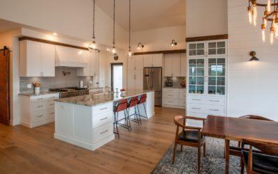 Sneak Peek! Home #4 on the Traverse City Area Home Tour is a Modern Farmhouse