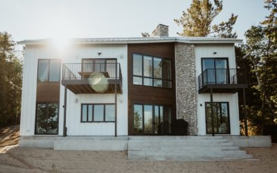 Sneak Peek! Home #8 on the Traverse City Area Home Tour is the New Rustic