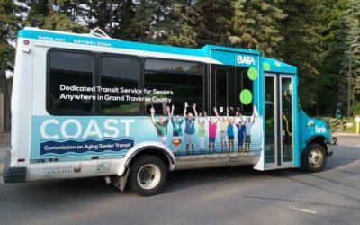 COAST Program Transports Seniors Across Grand Traverse County, Free