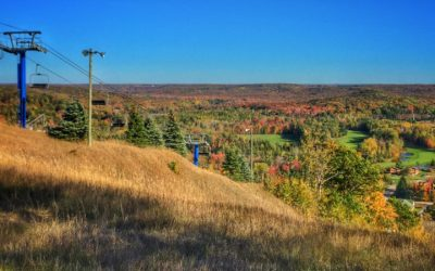 5 Places to Take a Scenic Fall Color Chairlift Ride in Northern Michigan