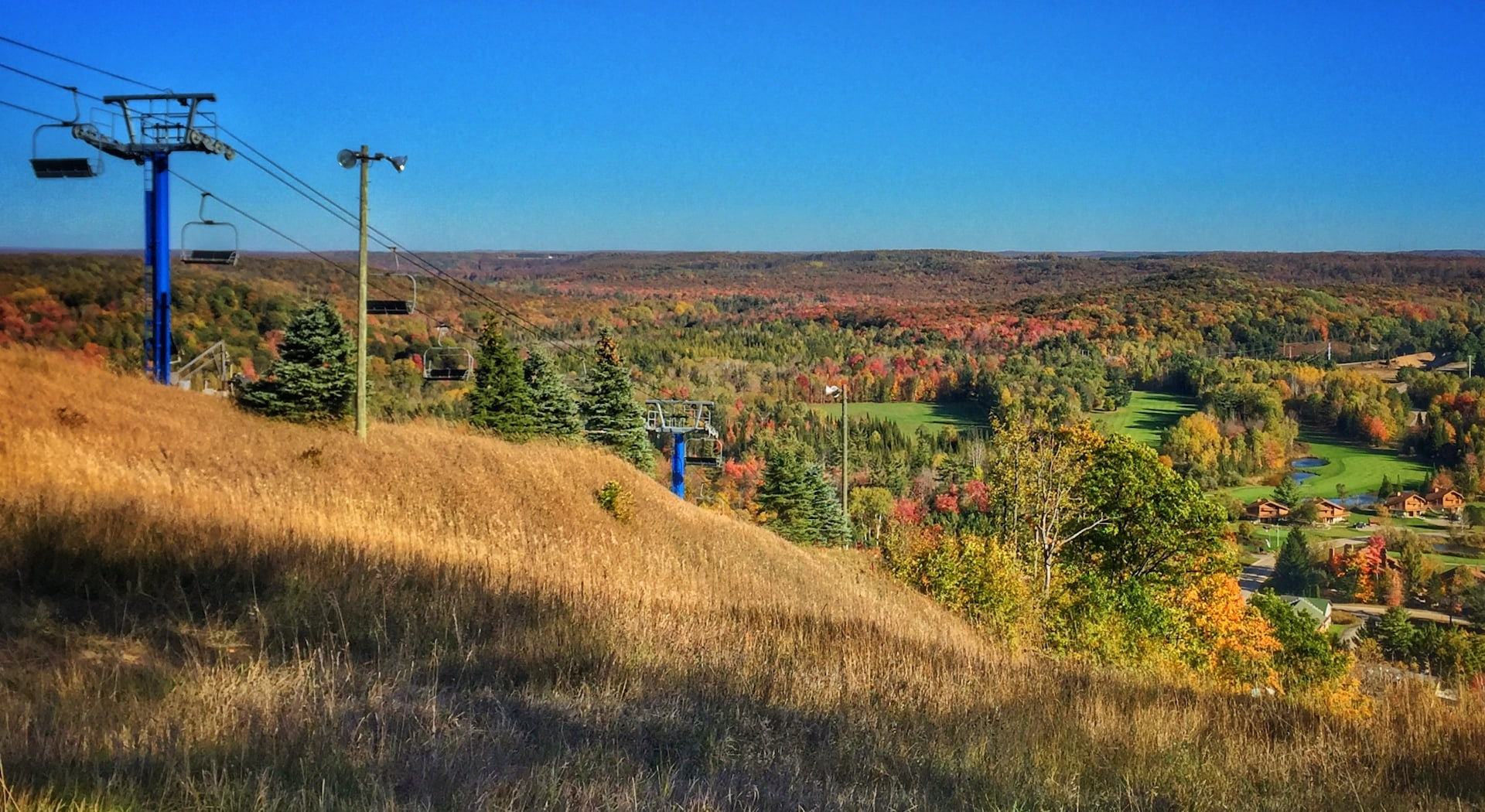 Fall Color Chairlift Ride