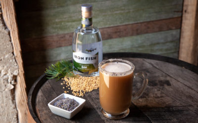 Sip Cozy, Cold Weather Cocktails at Iron Fish Distillery